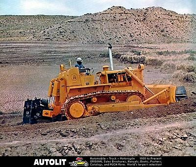 1970 International Crawler Tractor Photo Poster zc3762-JJXBV4