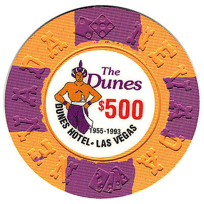 The Mint Hotel and Casino $5000 Bill Borland Commemorative Chips 1st Edition *
