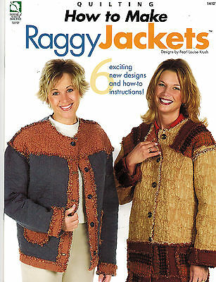 Wholesale Lot: How to Make Raggy Jackets Quilting Book-Case of 144-Ret. $1000.80