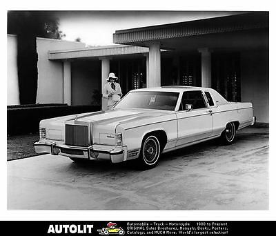 1978 Lincoln Continental Factory Photo uc0801-U5YLVQ
