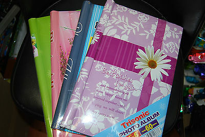 "Lot Of 4pc New photo album 4""x6"" hold 60 photos each Free Shipping"
