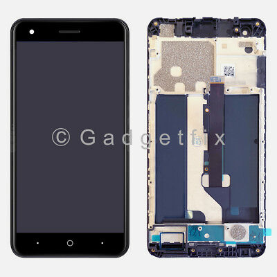 US LCD Display Touch Screen Digitizer Frame Replacement For ZTE Blade X Z965