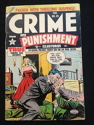 CRIME AND PUNISHMENT #59 VG- Condition