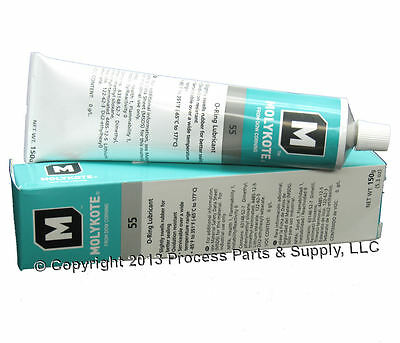 DOW CORNING Molykote 55 O-Ring Silicone Grease Lubricant 5.3oz 150g Tube