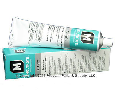 DOW CORNING Molykote 33 Light Extreme Low Temperature Bearing Grease 5.3oz Tube