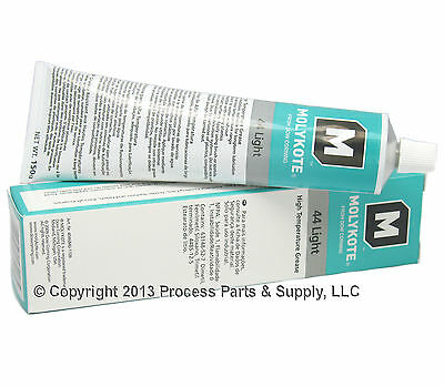 DOW CORNING Molykote 44 Light High Temp Bearing Silicone Grease Lube 5.3oz Tube