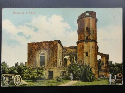 India: Residency Lucknow, Uttar Pradesh, Old Postcard