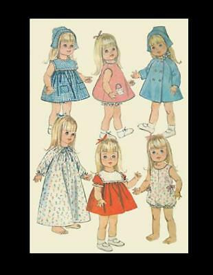 Vintage Pattern for Chatty Cathy Doll Patterns #6768