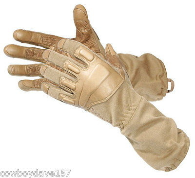 Blackhawk Fury Gloves Nomex 8093SMCT Small Tan Tactical Authentic Blackhawk