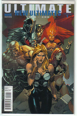 New Ultimates #1 Leinil  Yu Variant Nm
