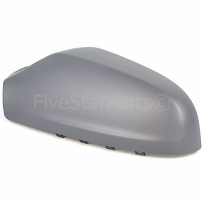 Left Passenger Side Wing Door Primed Mirror Cover For Vauxhall Astra H Lhs