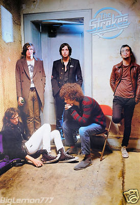 "The Strokes Group Music Poster 23.4""x34.5"""