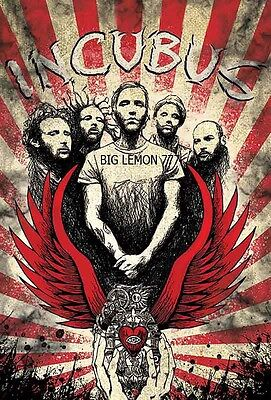 "INCUBUS Music Poster #1 24""x35"""