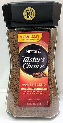 Nescafe Taster's Choice Instant Coffee House Blend 7oz Tasters Choice