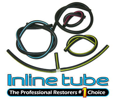 1970 Oldsmobile Engine Vacuum Hose Set 455 350 AT With A/C Color Hose