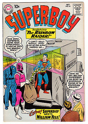 Superboy #84 7.0 Off-White Pages Silver Age Superman