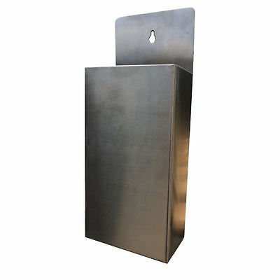 Stainless Steel Bottle Cap Catcher Wall Mounted Professional Top Bar Pub PRC11