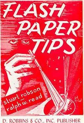 FLASH PAPER TIPS
