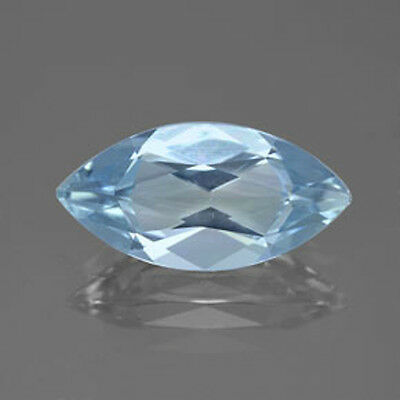 Masterpiece Collection: Marquise Faceted AAA Natural Aquamarine (5x2.5 to 8x4mm)