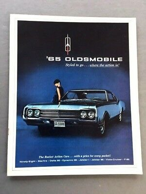Parts & Accessories 1965 Oldsmobile Prestige Sales Brochure 98