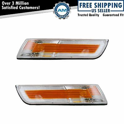 Side Marker Light Pair for Mercury Grand Marquis 95 96 97