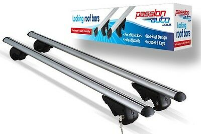 Vauxhall Zafira Aluminium Aero Dynamic Roof Bars For Side Rails