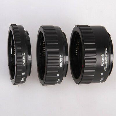 Auto Focus AF Macro Extension Tube for Canon EOS EF EF-S 1D X 7D 6D 5D Mark III