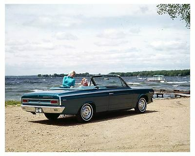 1966 AMC Rambler American 440 Convertible Factory Photo uc2677-5YJH9B