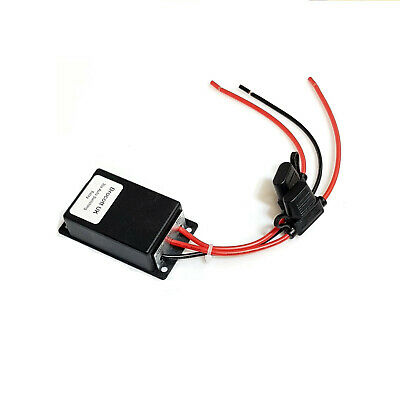Camper Van Voltage Sensing Relay Split Charge Relay Builtin Fuse Holder 12V, 30A