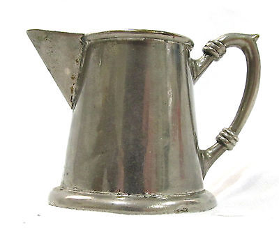 Great Vintage Pewter Miniature Pitcher
