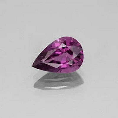 Masterpiece Collection: Pear Faceted AAA Natural Rhodolite Garnet (6x4mm-10x7mm)
