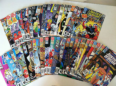 Justice League Europe #1-42 missing one issue