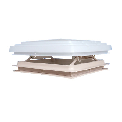 Roof Vent Sky Light Caravan Motorhome 280 x 280mm Flynet Beige MPK Rooflight