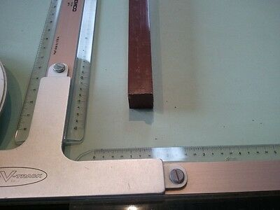 "3/4"" x 3/4"" X 48""  URETHANE / POLYURETHANE 80 D BROWN BAR"