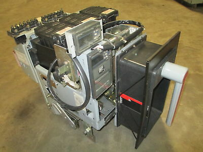General Electric AKRU-10D-50 1600 Amp Breaker LS MicroVersa AKRU10D50 MO DO