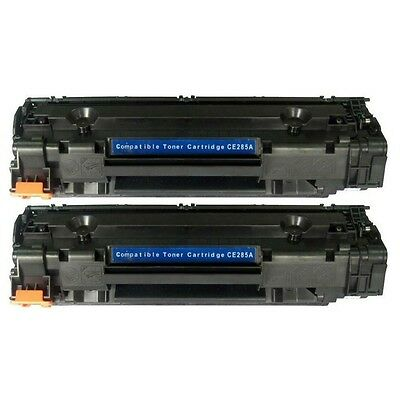 2pk Toners Compatible with HP 85A (CE285A) for LaserJet Pro P1102 P1102w Printer