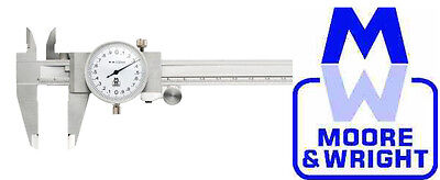 Moore And Wright 0-150Mm Dial Caliper Mw141-15 Myford Rdgtools