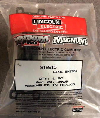 LINCOLN S18815 Line Switch (Above Code 10400)