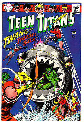 Teen Titans #11 7.5 Off-White Pages Silver Age Robin