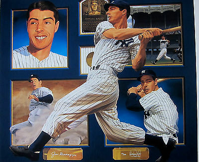 Joe DiMaggio Signed  Autographed Danny Day Limited Edition Giclee