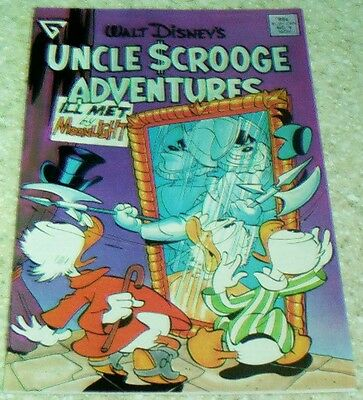 "Uncle Scrooge Adventures 45 NM- 1997 /""Secret of the Duckburg Triangle!/"" 9.2"
