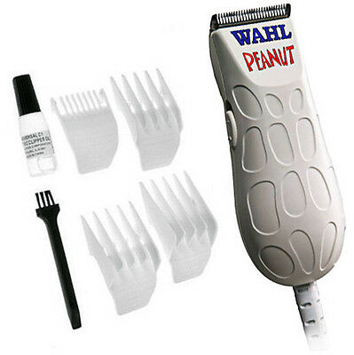 Wahl Peanut 8655 Trimmer / Clipper White - Hair Cut Pro Grooming Groomer Beard