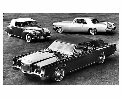 1969 Lincoln Continental Mark I, II and III Automobile Photo Poster zuc4098-G4DR