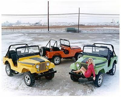 1971 Jeep Renegade 2 Photo Poster zc5115-ECL4GT