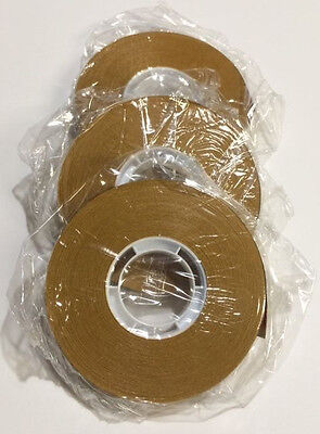"""3 Rolls ACID FREE - ATG Tape 1/2"""" x 36 yds Double Sided * Great For Scrapbooking"""