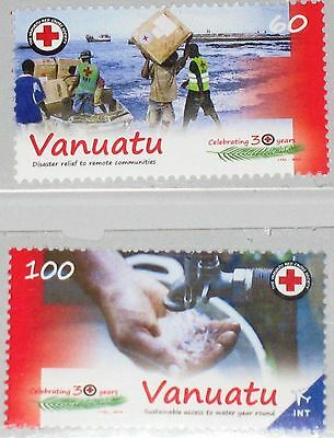 VANUATU 2013 Red Cross Rotes Kreuz Disaster Relief Fund Acces to clean Water MNH