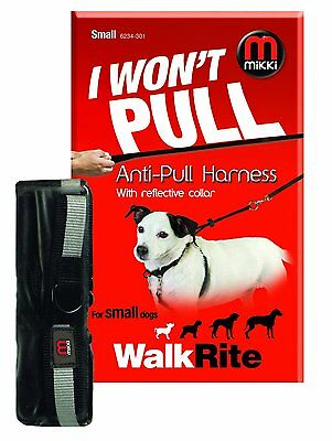 Mikki Reflective Walkrite Anti Pull training Harness(6234)