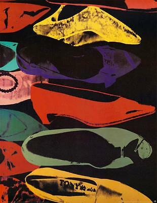 Shoes, 1980 (Large) by Andy Warhol Art Print Offset Lithograph Poster 38x50
