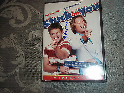 "Bobby Farrely ""Stuck on You"" Autographed DVD Cover Signed December 2008"