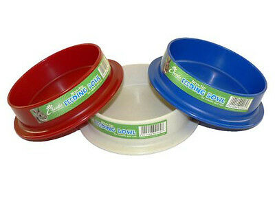Anti tip feeding dish for Rabbits, hamsters and mice.